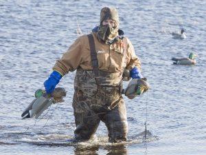 Duck Hunting Waders Material
