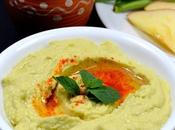 Avocado Hummus Homemade Dips