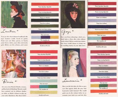 1940s Makeup to match the Artists Palette