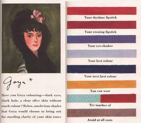 1940s Makeup-to-match-the-Artists-Palette - Goya