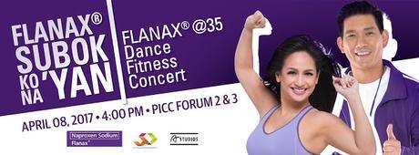 Flanax® @ 35 Dance Fitness Concert