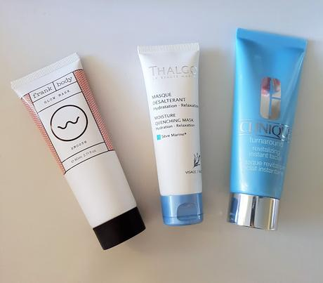 Top Three Tuesday - Hydrating Face Masks