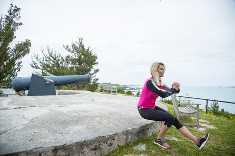 Fitness On Toast Faya Blog Girl Healthy Workout Sailing Trip Bermuda Americas Cup Sailing British Team Land Rover Workout Overseas Territory-27