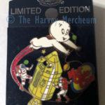 Pop Culture Trading Pin Co. Mid-Ohio Con exclusive Casper pin front view.