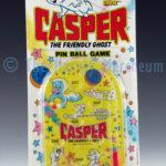 Casper Pin Ball Game front view including backing card.