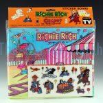 Richie Rich and Casper Sticker Board, Richie Rich Circus variant front view