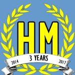 Harvey Mercheum Three Year Anniversary logo image