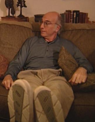 "Larry David's ""Pants Tent"""