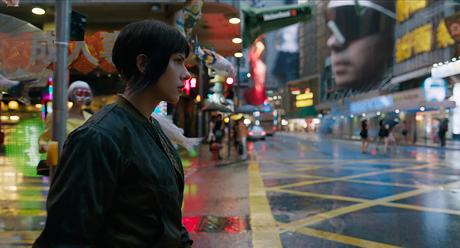 Film Review: Ghost in the Shell Sure Is Pretty to Look At