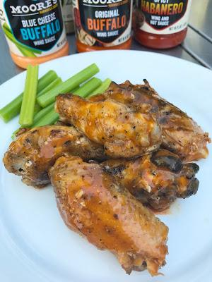 Championship Grilled & Saucy Chicken Wings