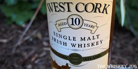 West Cork Single Malt 10 Years Label