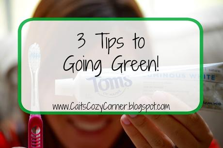 3 Tips to Going Green!