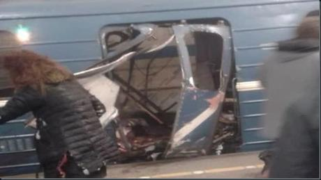 Blasts on the Russian Metro kills 10 victims
