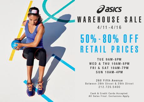 SHOPPING NYC: ASICS WAREHOUSE SALE