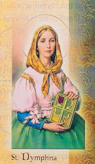 Saint of the Month: Saint Dymphna