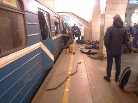 Terror Strikes St Petersburg Metro