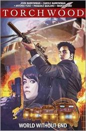 Torchwood Volume 1 - World Without End TPB Cover