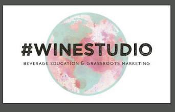 #wineStudio Logo Design: Elena Bundy, @yyz_designco