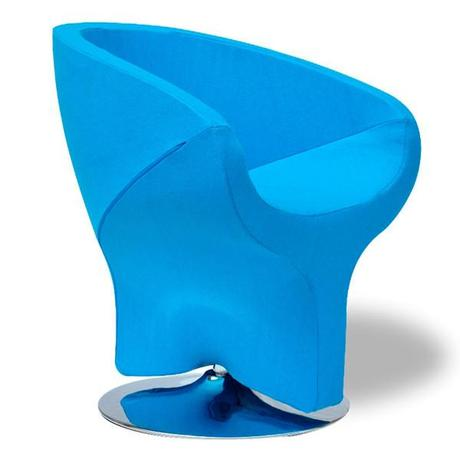 Blue Lounge Chair