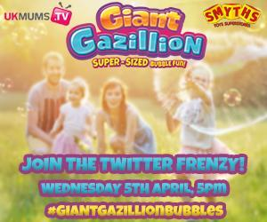 Join the #GiantGazillionBubbles Twitter Frenzy!