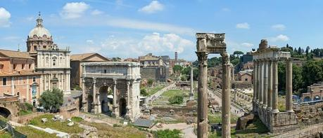 Italy travel, Roman ruins, Forum