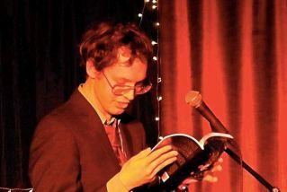Christopher Villiers during his book reading in London