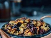 Earl Grey Honey Simple Syrup Blackberry Bread Pudding Cocktails