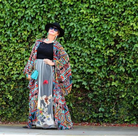 More Kimono Love ... and an Outfit Comes Together