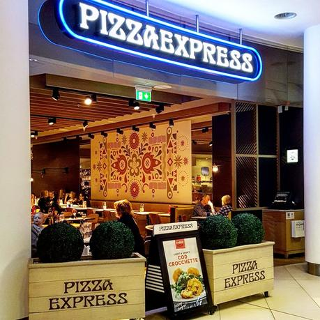 Eating Out|| Pizza Express - Spring Eats