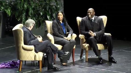 Magic & Cookie Johnson Shared Their Story Of Faith  At Lipscomb University