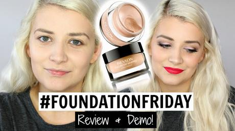 #FoundationFriday: Revlon Colorstay Whipped Cream Foundation Review & Demo Video