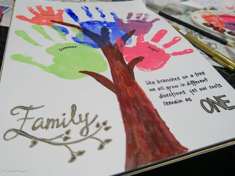 Creativity 521 #110 - Our family tree