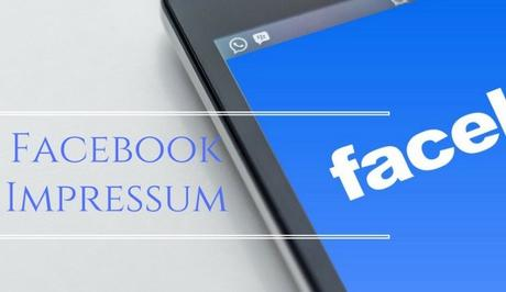 What is Facebook Impressum and How to Apply it to FB Fan page?