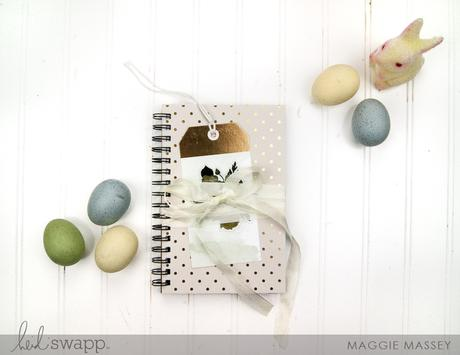 Magnolia Jane DIY Notebook | Heidi Swapp