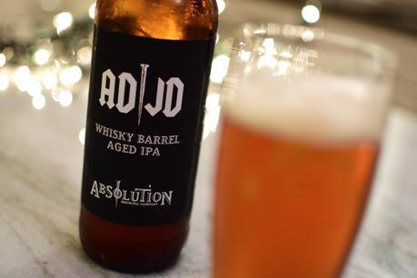 Beer Review – Absolution Brewing Co. AD/JD Whisky Barrel Aged IPA