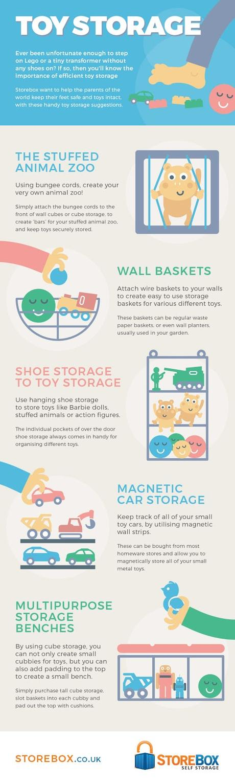 How To Design Your Own Toy Storage