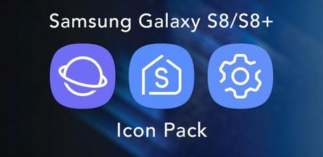 Galaxy S8 – Icon Pack v1.0.3 APK