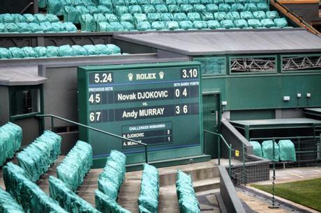50 Shots: A #London #Photoblog No.2. Come On Andy! #Wimbledon