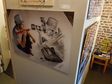 Pop Up The Jam - Ben Heine Art Exhibition - Colorfield Gallery - Bruxelles - Jam Hotel 2017