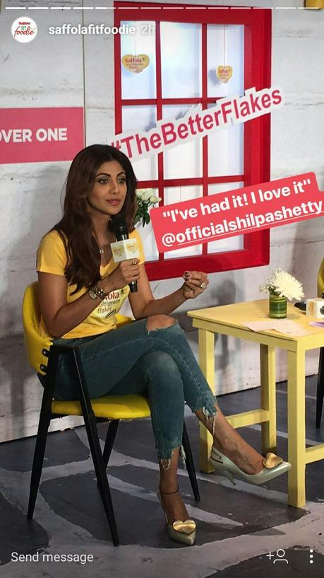 Saffola launches #TheBetterFlakes with fitness celeb Shilpa Shetty and renowned nutritionist Pooja Makhija