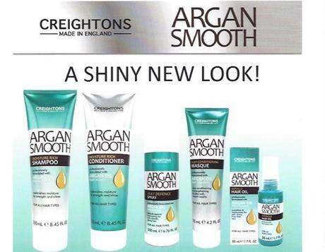 Beauty treats for me: Creightons Argan smooth