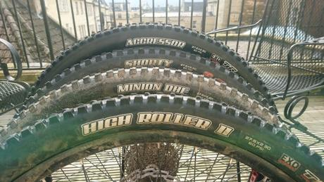 Maxxis Group Test: Shorty, Minion, HR2, Ardent, Aggressor