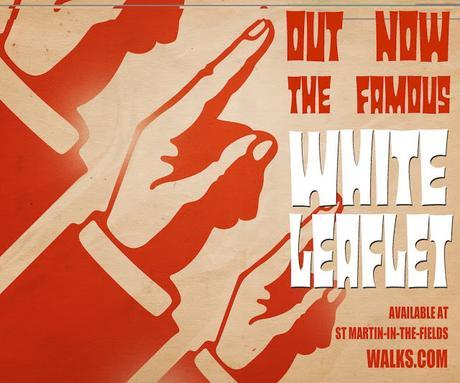 The Famous White Leaflet Is Out Now! Thanks to London Walker Cheryl Morris For the Review!