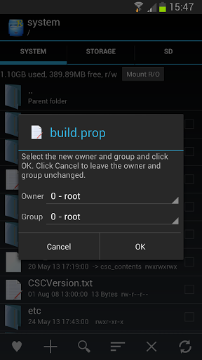Root Explorer v4.1.1 APK