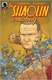 The Shaolin Cowboy: Who'll Stop the Reign? #1 Cover