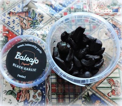 Black Garlic and Cheesy Smash