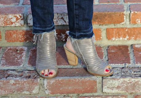 Paul Green metallic booties