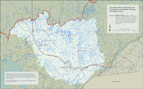 Protecting the #OttawaRiver #watershed #FirstNations history