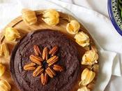 Vegan Chocolate Torte with Pecan Crust