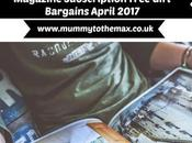 Magazine Subscription Free Gift Bargains April 2017